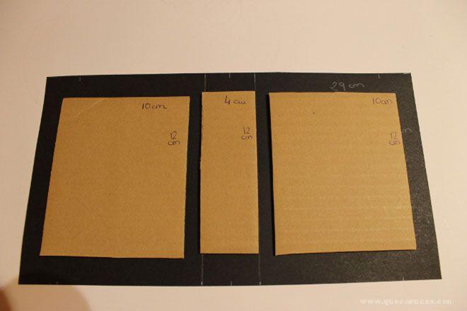 medidas cartulina album scrap