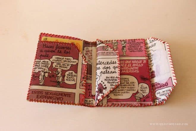 e0896d21c Cómo hacer una cartera de papel. DIY   Que Cosucas