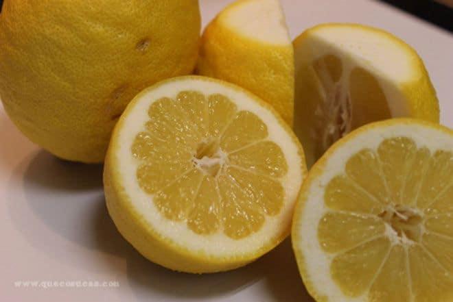 limones huerto urbano