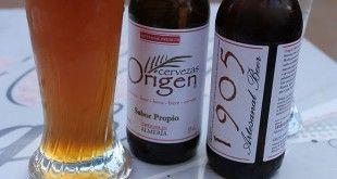cerveza origen 1905