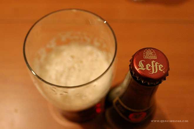 cerveza leffe kerstbier