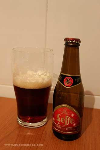 leffe biere de noel