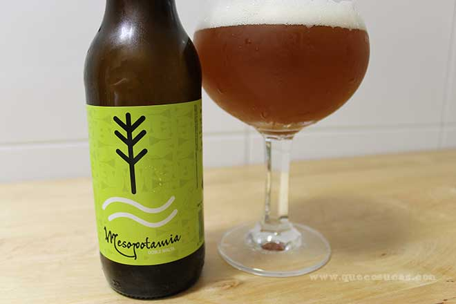 cerveza mesopotamia