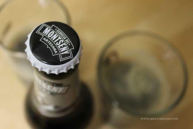 chapa cerveza montseny