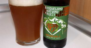 Cerveza Ipa Imparable de Basqueland Brewing Project
