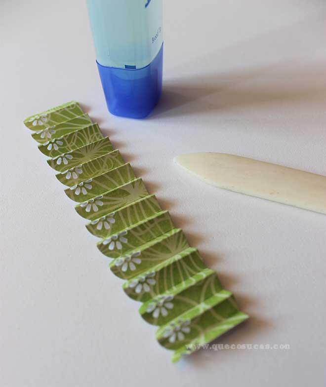 acordeon papel scrap