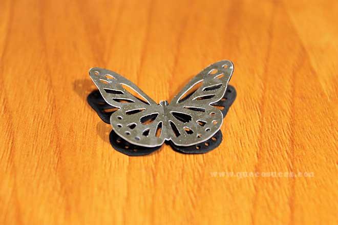 mariposa papel 3d