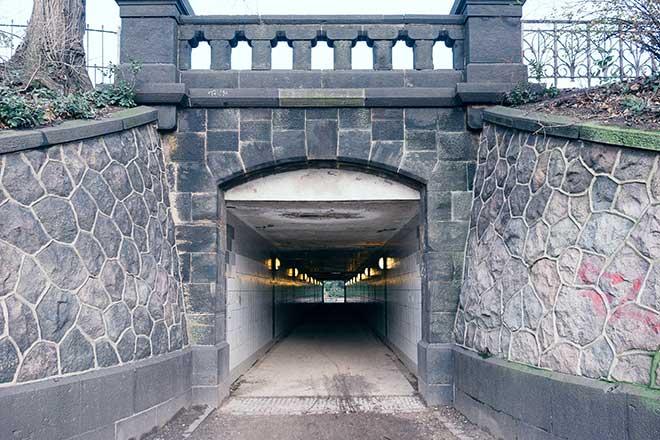 tunel agorafobia