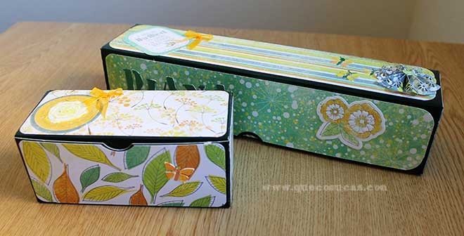 caja washi tapes idea